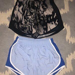 2 PAIRS of Nike Dri-Fit Running Shorts